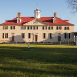 President George Washington home at Mount Vernon in Virginia